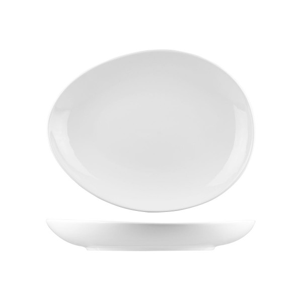 BISTRO & CAFE TABLEWARE EGG SHAPE PLATE / BOWL