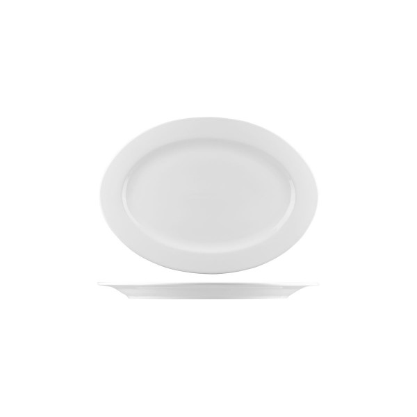 BISTRO & CAFE TABLEWARE  OVAL PLATES