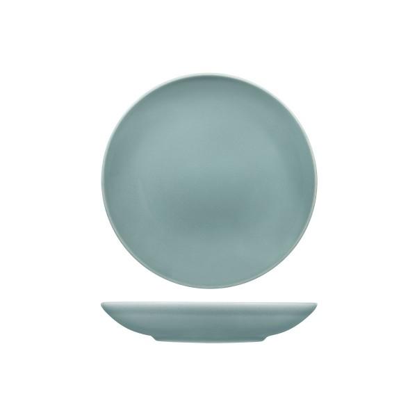 VINTAGE BLUE ROUND COUPE BOWL